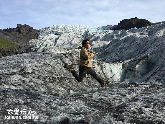 冰島必玩冰河健行