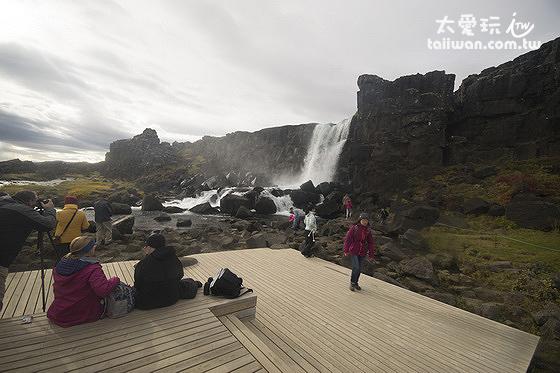 Öxarárfoss是一處拍照的瀑布景點