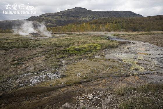 蓋錫爾噴泉地熱區(Geysir and Strokkur)