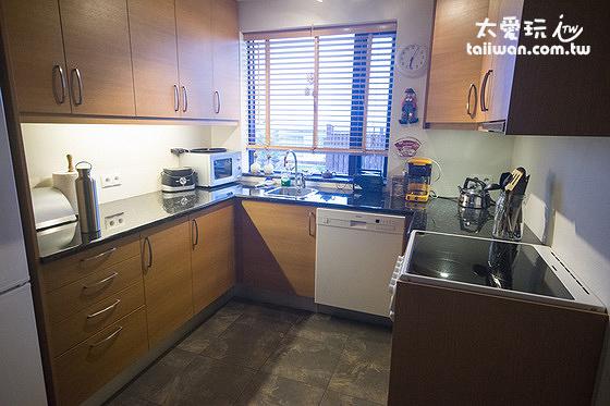 廚房是選擇冰島住宿時非常重要的考慮條件