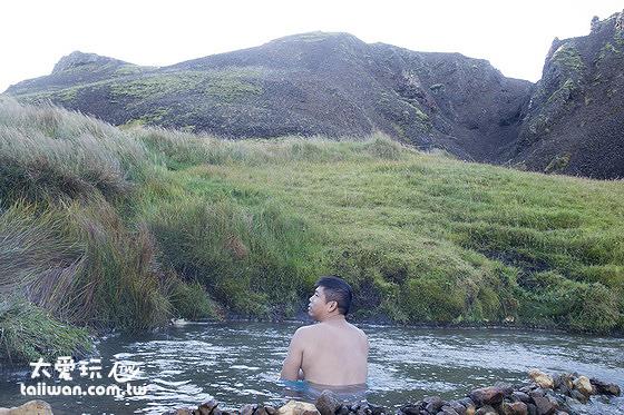 Reykjadalur Valley野溪溫泉