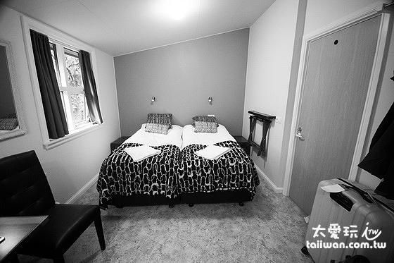 希爾達波賓館的含衛浴雙人房