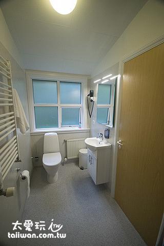 希爾達波賓館的雙人房衛浴