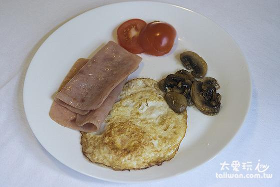 自己煮的早餐