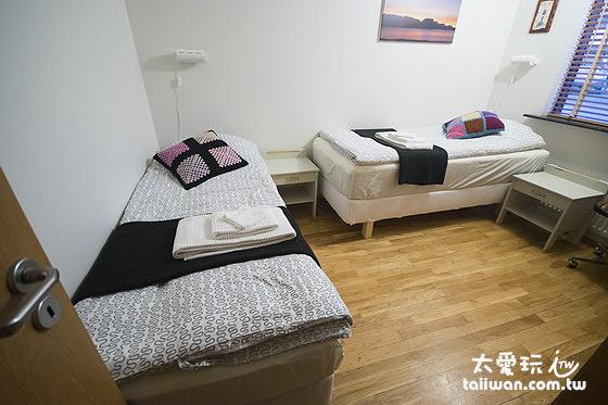 JF舒適公寓雙床房