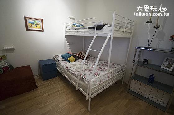 JF舒適公寓三人房