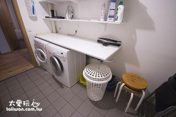 JF舒適公寓洗衣間