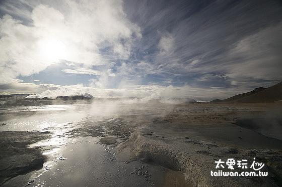 米湖Mývatn周邊景點眾多