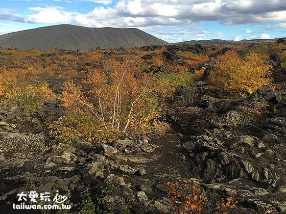 Dimmuborgir黑色城堡與Hverfjall 偽火山口