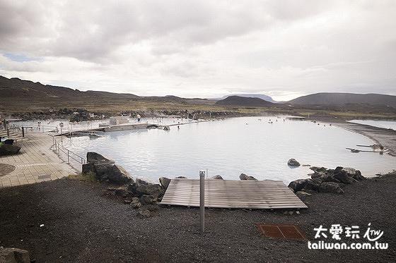 米湖溫泉Mývatn Nature Bath規模沒有藍湖大