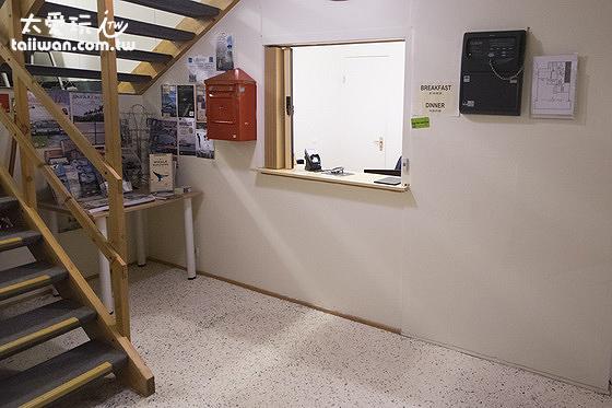 Guesthouse Stöng櫃台
