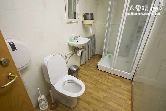 Guesthouse Stöng斯通小屋旅館公共浴室