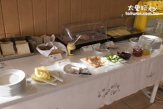斯通小屋旅館早餐非常受歡迎