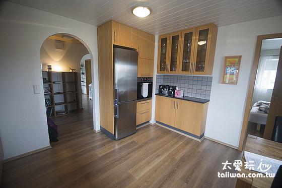 Stella Rósa apartment 廚房餐廳的設備非常齊全