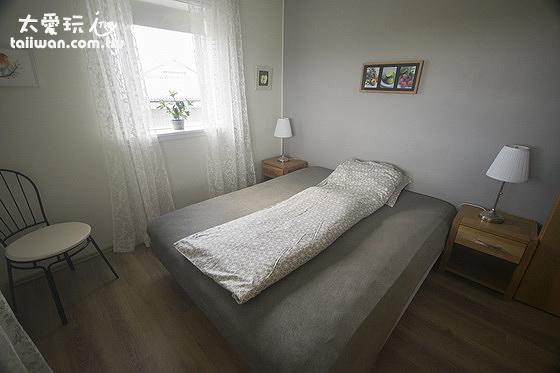 Stella Rósa apartment3房公寓的雙人床房