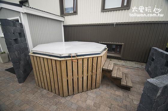 Stella Rósa apartment公共泡澡熱水浴缸