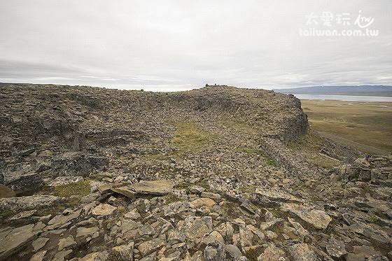 Borgarvirki是個火山栓