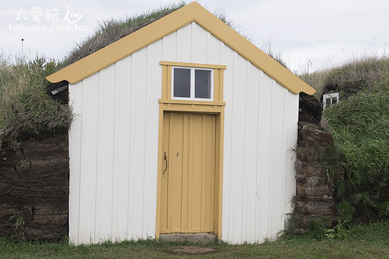 古代冰島人傳統草皮屋turf-house