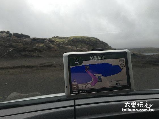 冰島租車最好有GPS導航機