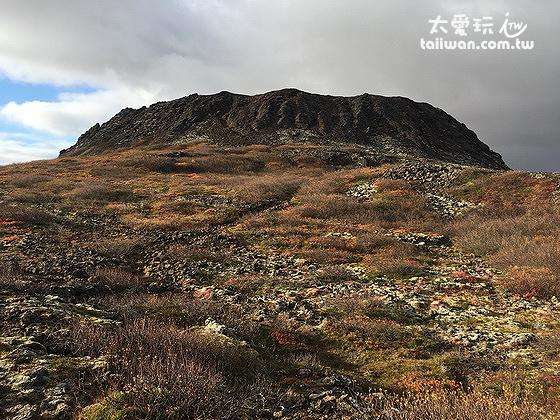 Eldborg火山口