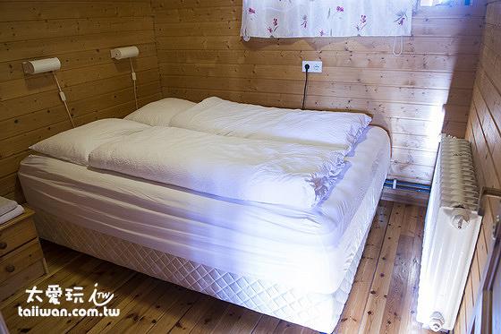小木屋的雙人房