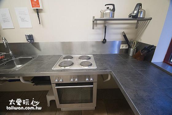 赫沃爾旅館公用廚房
