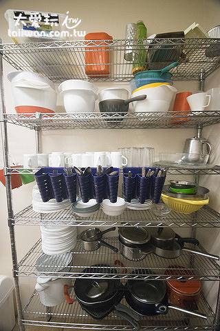 赫沃爾旅館廚房工具很多