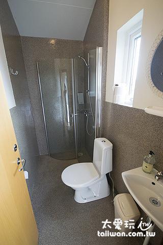 傑迪住宿加早餐旅館小木屋的浴室