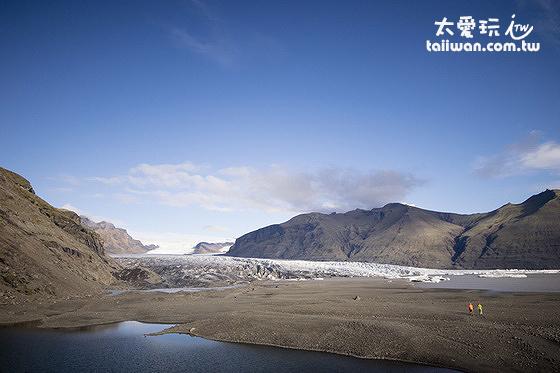 斯卡夫塔山冰川Skaftafellsjökull