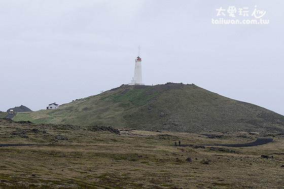 Reykjanesvíti是冰島最古老的燈塔