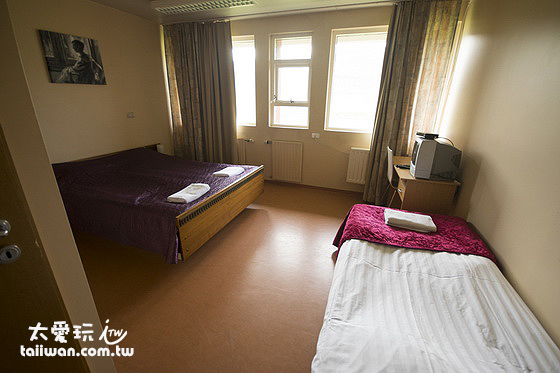 維特賽庫爾酒店三人房
