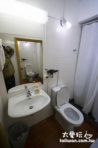 維特賽庫爾酒店公共浴室