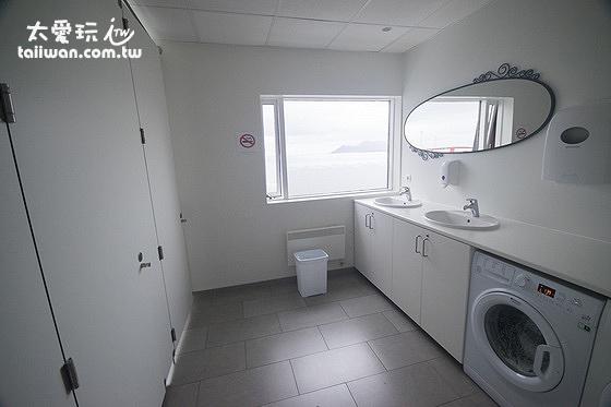 維德哈菲德旅館公共浴室很乾淨
