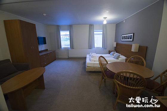 歡迎公寓雙人豪華公寓面積足足有36平方公尺約11坪