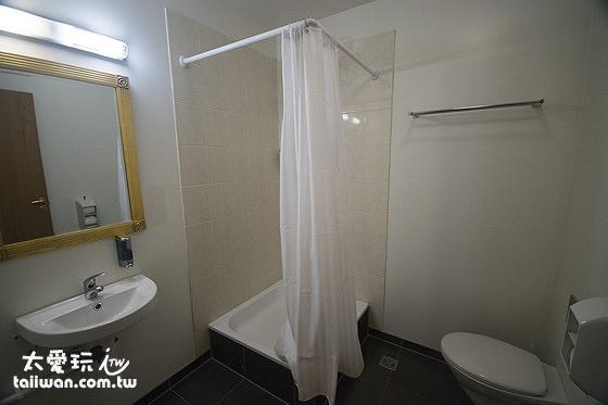 雙人豪華公寓廁所