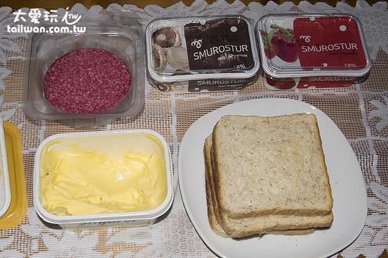Guesthouse Borg博格賓館的早餐