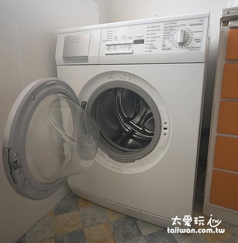 Guesthouse Borg博格賓館洗衣機
