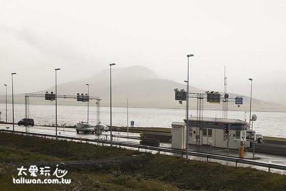 Hvalfjörður Tunnel海底隧道是全冰島唯一一處公路收費處