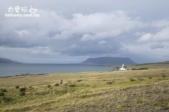 Hvalfjörður峽灣小教堂