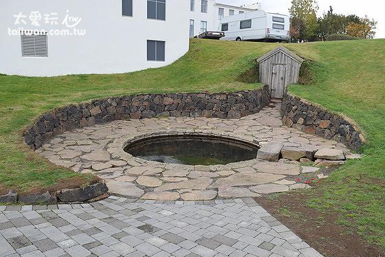 Snorri Sturluson的浴池遺跡