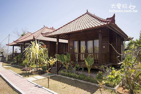 阿比安棚屋酒店Abian Huts豪华双人房Deluxe Double Room