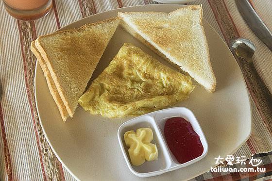 阿比安棚屋酒店Abian Huts早餐現點現做