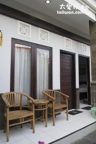 Wana Kubu民宿房間陽台