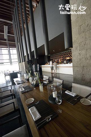 Cotta是酒店的主餐廳