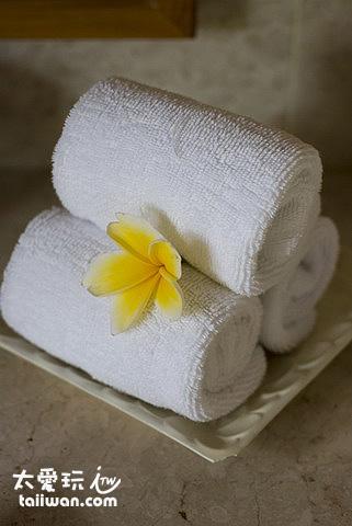 浴室毛巾備品