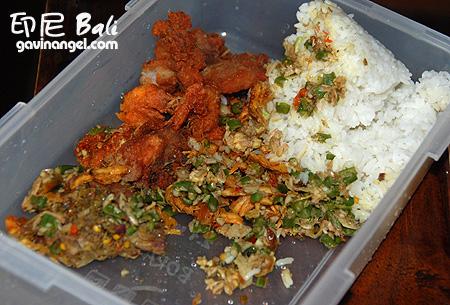 自助餐一份10000印尼盾