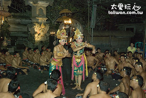 卡恰舞Kecak Fire and Trance Dance