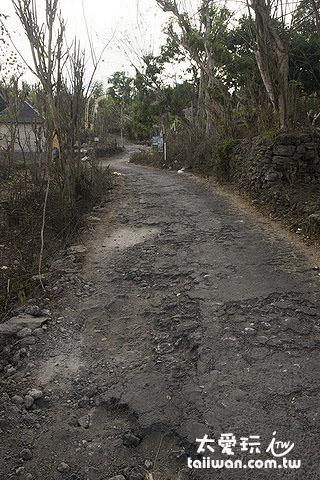 蓝梦岛的路很小条很烂