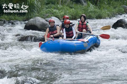 Sobek Telaga Waja Rafting