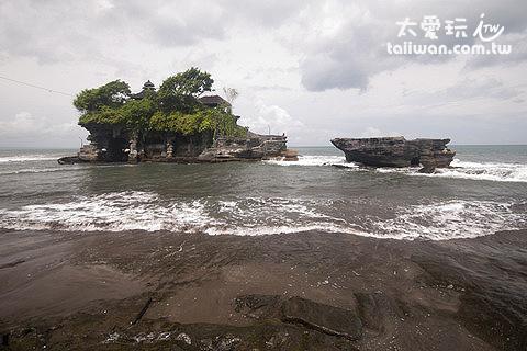 退潮中的海神廟